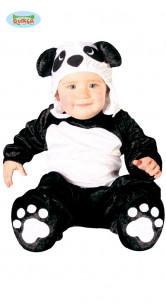 Disfraz de oso panda para bebe