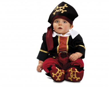 Disfraz bebé pirata