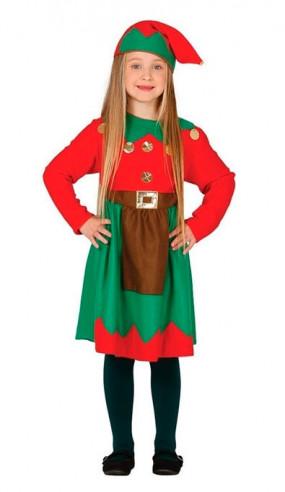 Disfraz hada verde niña