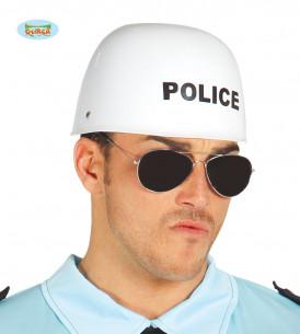 casco de policia