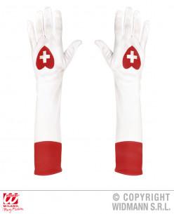 guantes de enfermera
