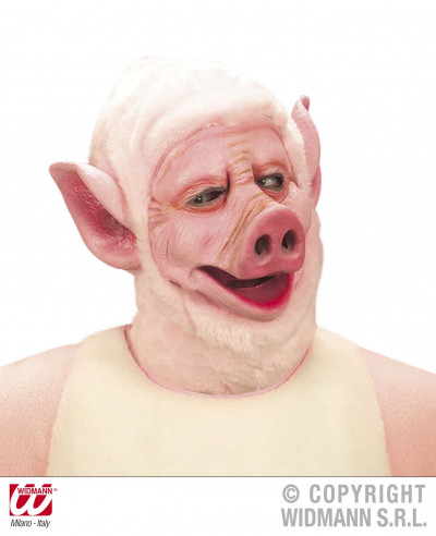 mascara de cerdo