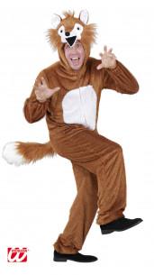 disfraz de zorro de peluche XL