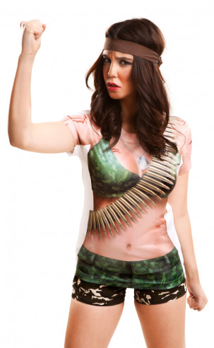 Disfraz de Guerrera Sexy