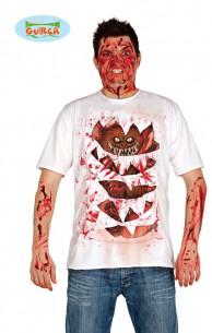 Disfraz camiseta monstruo
