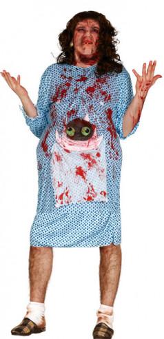 Disfraz embarazada zombie