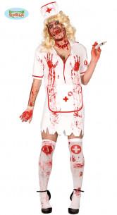 Disfraz enfermera zombie...