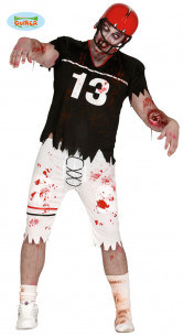 Disfraz jugador rugby zombie