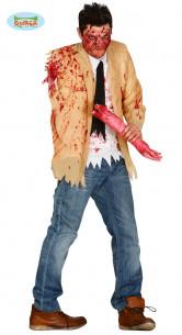 Disfraz de zombie amputado
