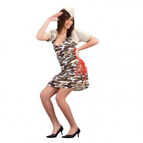 Disfraz de Camuflaje Sexy para Mujer