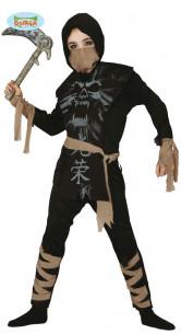 Disfraz de ninja fantasma