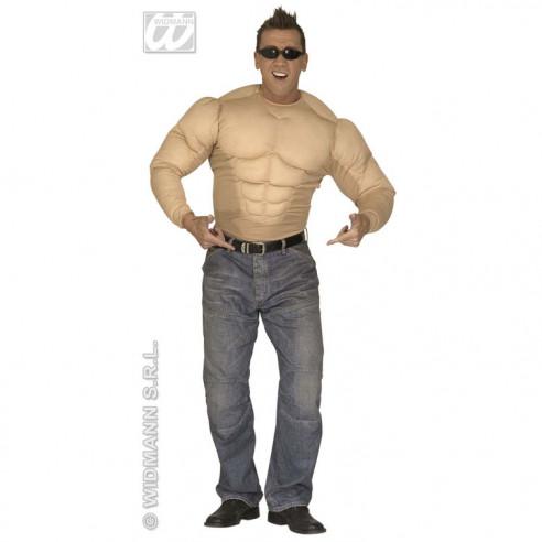 Disfraz Camisa Super Músculos para...