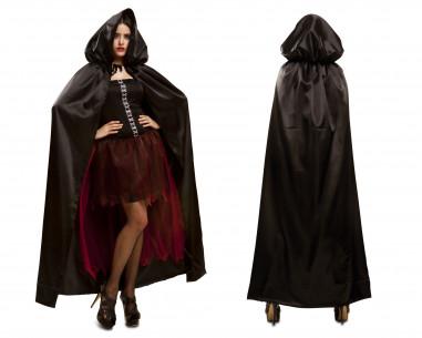Capa de Vampiresa Negra