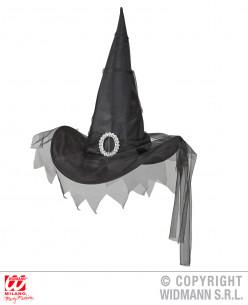 Gorro de bruja negro
