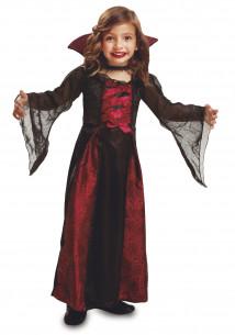 Disfraz vampira niña
