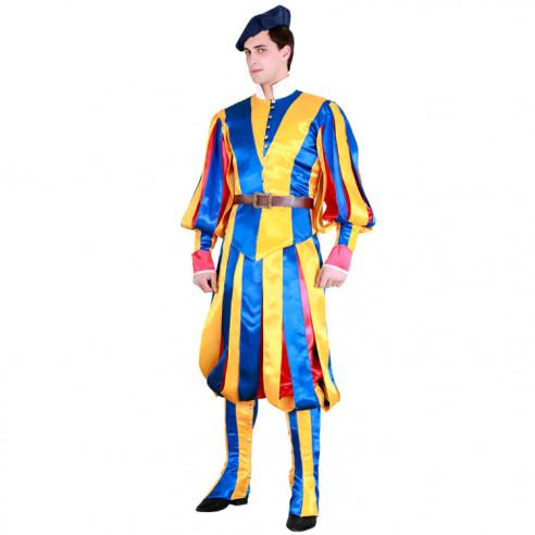 Disfraz de Guarida Suiza Vaticana...