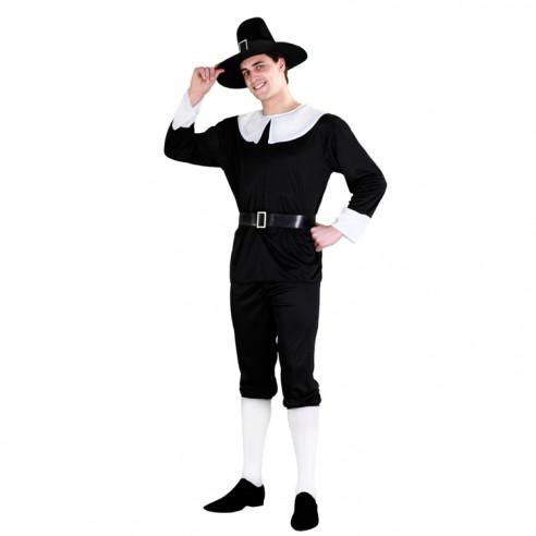 Disfraz de Puritano para Hombre