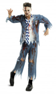 Disfraz Colegial Zombie
