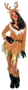 Disfraz reno mujer
