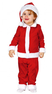 Traje Papá Noel para bebé