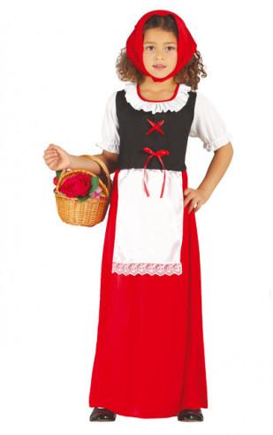 Disfraz pastora niña