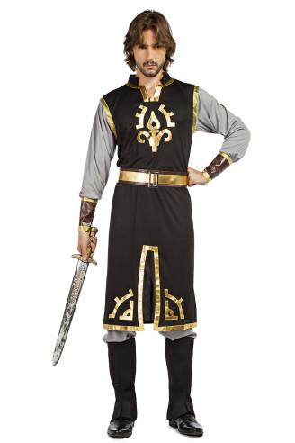 Disfraz caballero medieval carta
