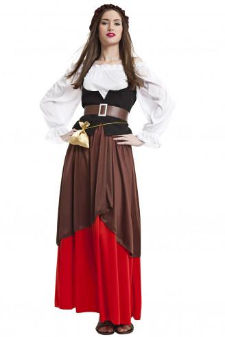Disfraz de mesonera medieval