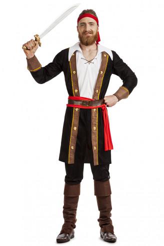 Disfraz de pirata negro