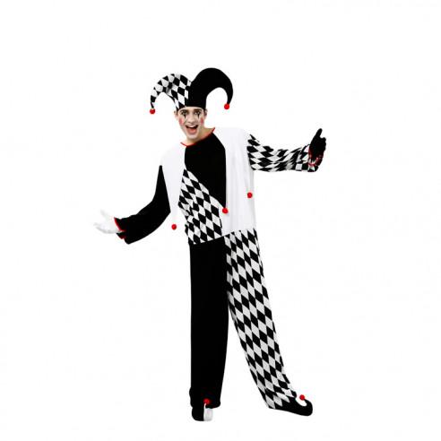 Disfraz de Pasayo Bufón para Hombre