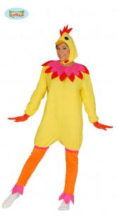 Disfraz de gallina Carnaval