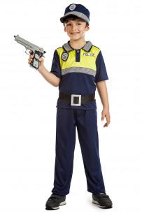 Disfraz policía local niño
