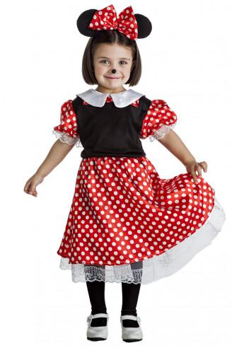 Disfraz ratoncita niña gracioso