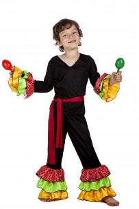 Disfraz rumbero niño