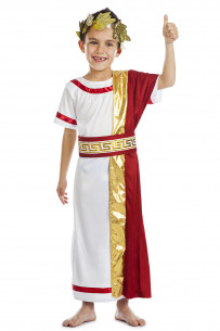 Disfraz romano niño Senador