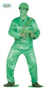 Disfraz de soldado de plástico