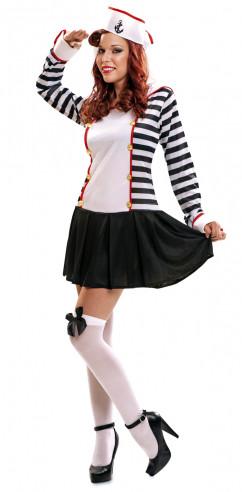 Disfraz marinero mujer