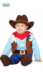 Disfraz de vaquero para bebé