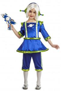 Disfraz marciana niña