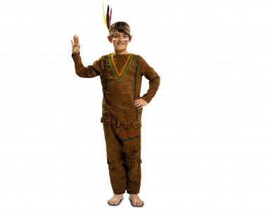 Disfraz indio niño pantalones