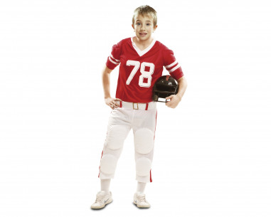 Disfraz rugby niño