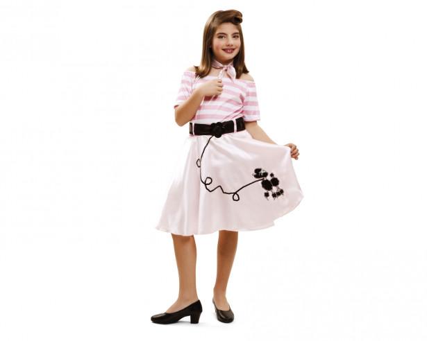 Disfraz Grease niña