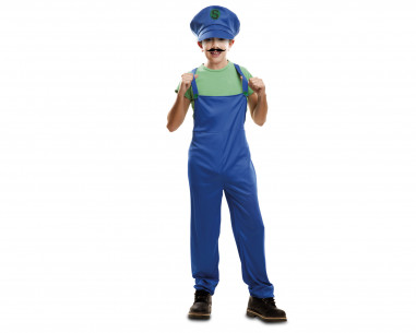 Disfraz Luigi niño