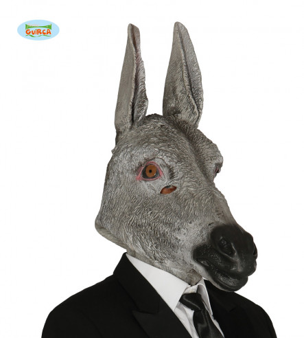 Máscara de burro