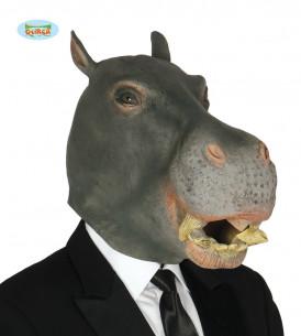 Máscara hipopótamo