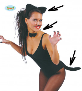 Disfraz gatita sexy