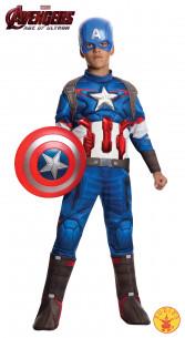 Disfraz Capitán América niño