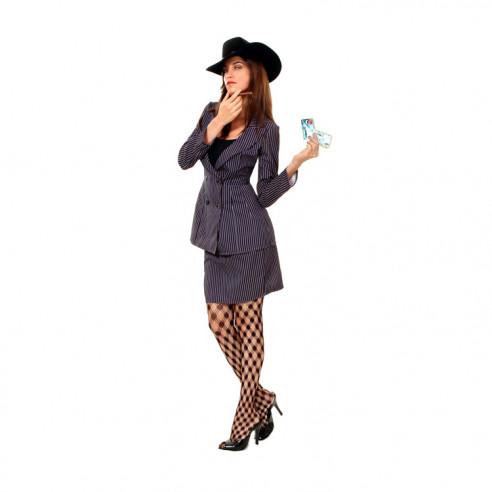 Disfraz Gangster Mujer