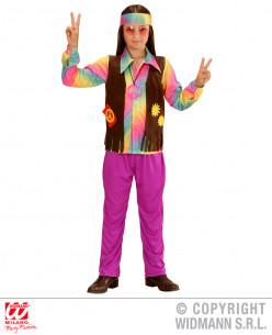 Disfraz hippie niño flower...
