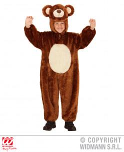 Disfraz oso niño