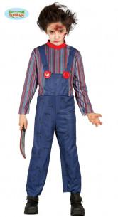 Disfraz Muñeco Diabólico Niño